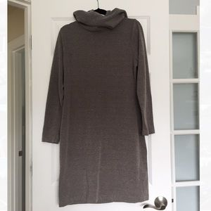 Banana Republic Dresses - Banana Republic Brown Turtleneck Sweater Dress